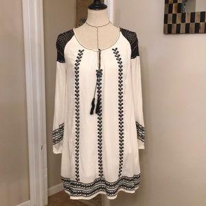 Free People Embroidered Boho Dress/Tunic